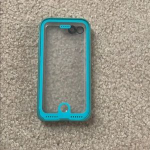 teal life proof case